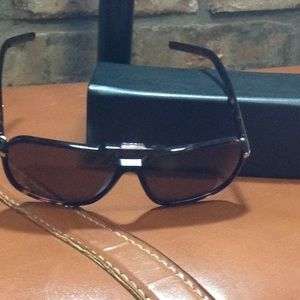 Christian Dior Homme Sunglasses with Leather Case
